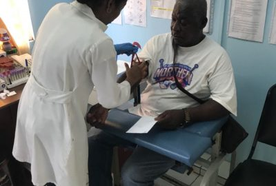 Medical Outreach in New Amsterdam